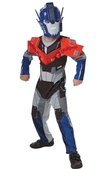Optimus Prime Maskeraddr  228 kt Deluxe Barn (Klassisk) 3747269bc8dad