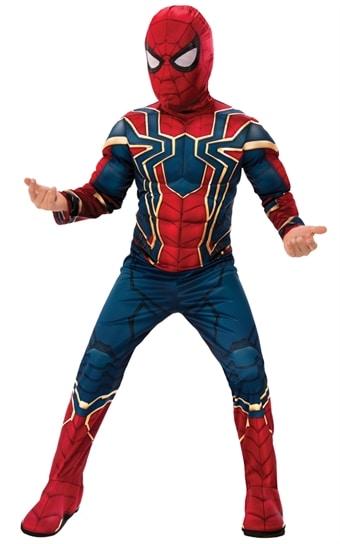 Spiderman Infinity War Deluxe Maskeraddr  228 kt Barn ... ba858a2c07b6a