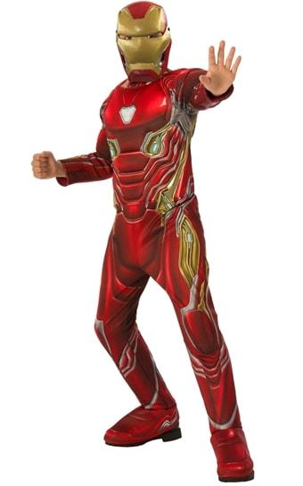 Iron Man Infinity War Deluxe Maskeraddr  228 kt Barn ... 99e32614248d4