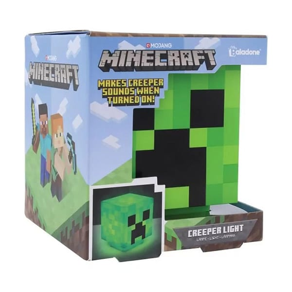 Minecraft, Lampa Creeper