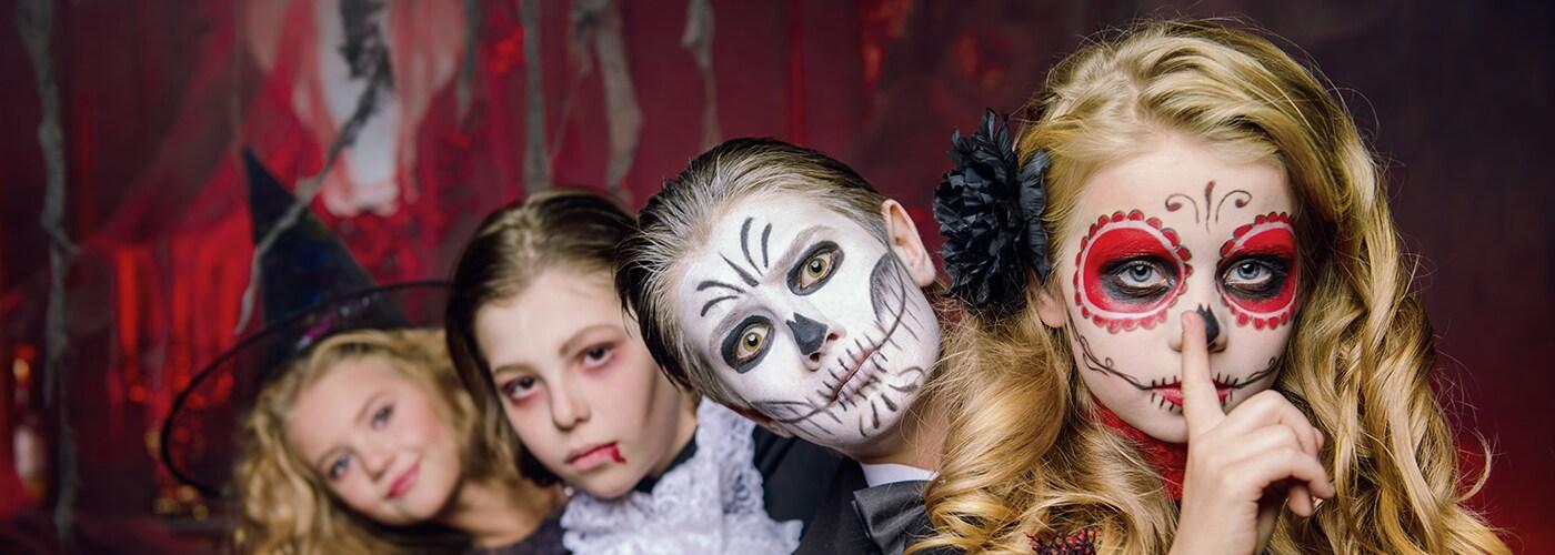 Halloweendräkter och tillbehör för barn  334f7cd35159c
